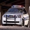 chevrolet police car Chevrolet Polizeiauto