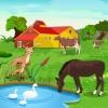 Unterschiede auf dem Bauernhof