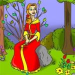 Prinzessin im Wald