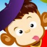 Ängstlicher Affe