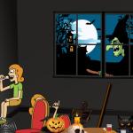 Halloween Room