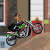 Motorrad Fahrer Obama