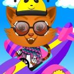 pilot cat Pilotin Katze