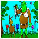 Shrek 2 Malen