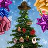 smokey bear christmas tree dressup Weihnachtsbaum schmücken