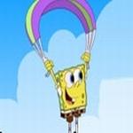 Spongebob fliegt