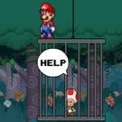 Super Mario rettet Toad