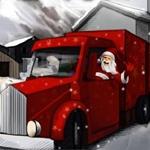 Weihnachtsauto Parken